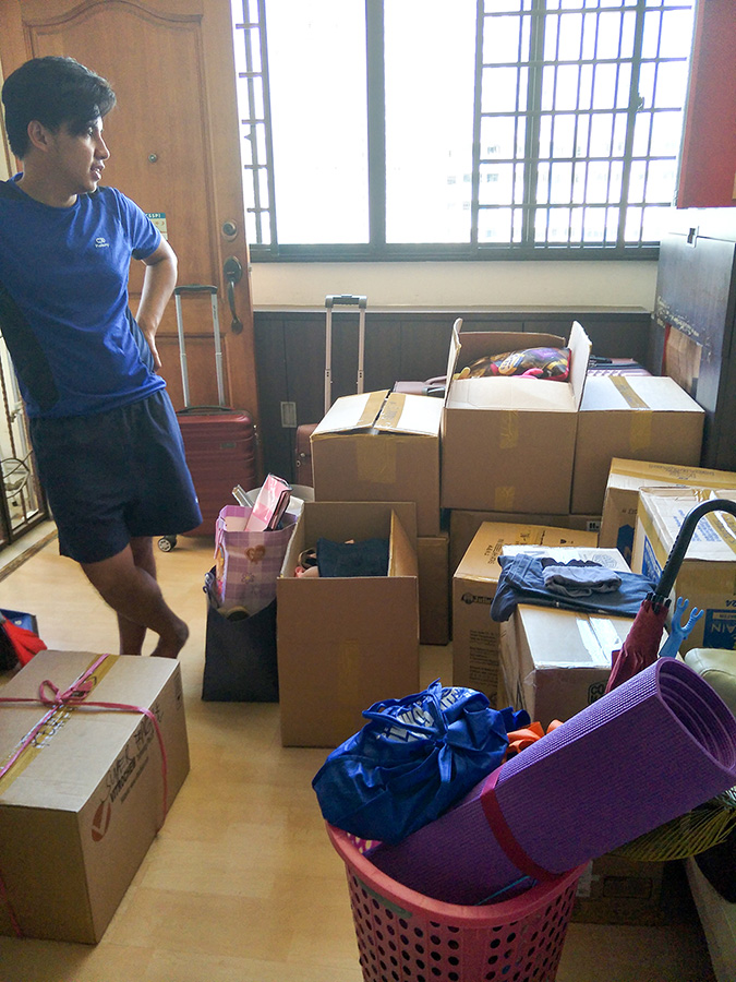 Moving house OFW