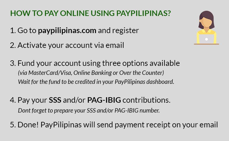 SSS Online Payment using PayPilipinas