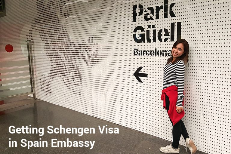 Schengen Visa application in Spain Embassy first time visit to Europe